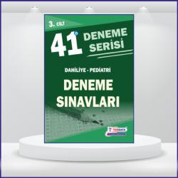 41 DENEME SINAVLARI SERİSİ ( 3.Cilt )