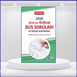 DUS SORULARI - ÖSYM'nin Orijinal 2018