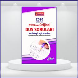 DUS SORULARI - ÖSYM'nin Orijinal 2020