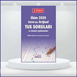 EKİM 2020 ÖSYM'nin Orijinal TUS SORULARI