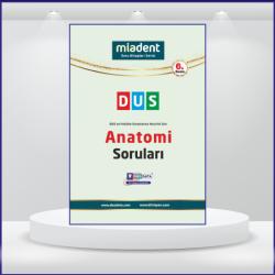 DUS Miadent Soruları Anatomi ( 6.Baskı )