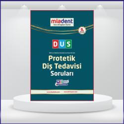 DUS Miadent Soruları Protetik Diş ( 5.Baskı )
