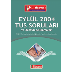 Eylül 2004 Açıklamalı Tus Soruları
