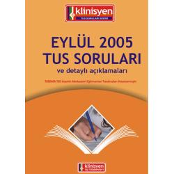 Eylül 2005 Açıklamalı Tus Soruları