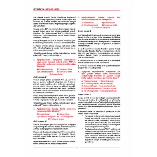 Meditus Biyokimya Soruları ( 2.Baskı )