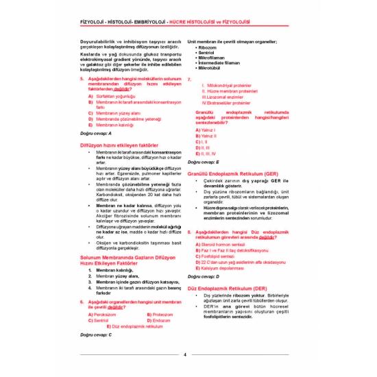 Meditus Fizyoloji Soruları ( 2.Baskı )