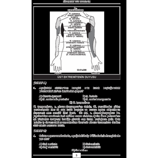 Nisan 2007 Açıklamalı Tus Soruları