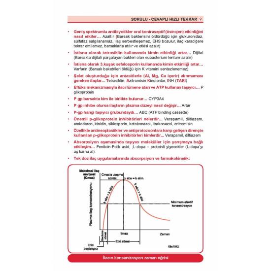 Optimum Review Özet ( 9.Baskı ) Farmakoloji