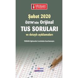 ŞUBAT 2020 ÖSYM'nin Orjinal TUS SORULARI