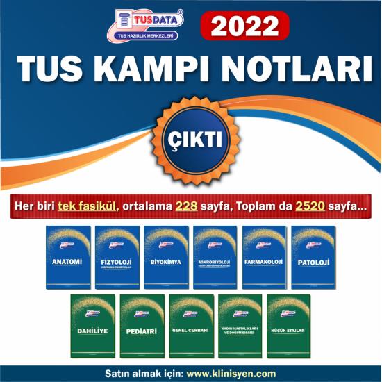 Tus Kampı Özel Notları ( 11 Branş ) 2022